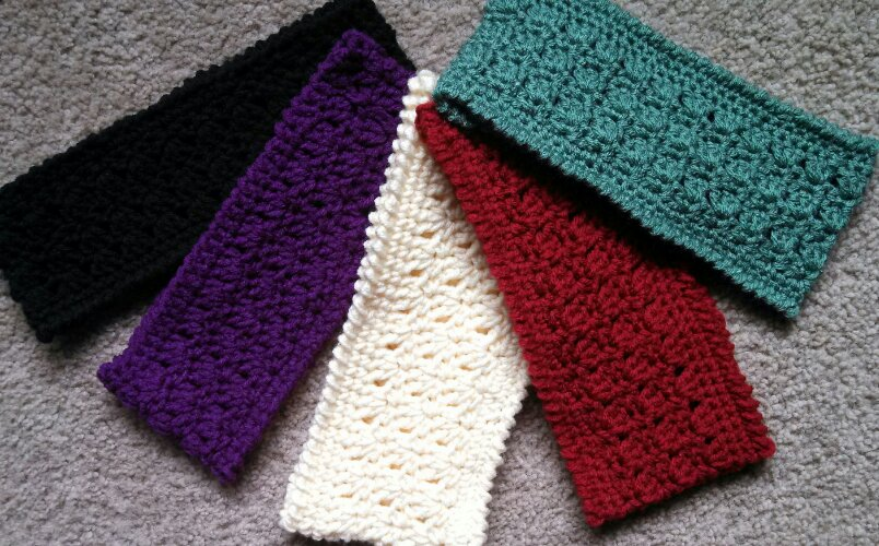 Amazing Grace Headband Free Crochet Pattern
