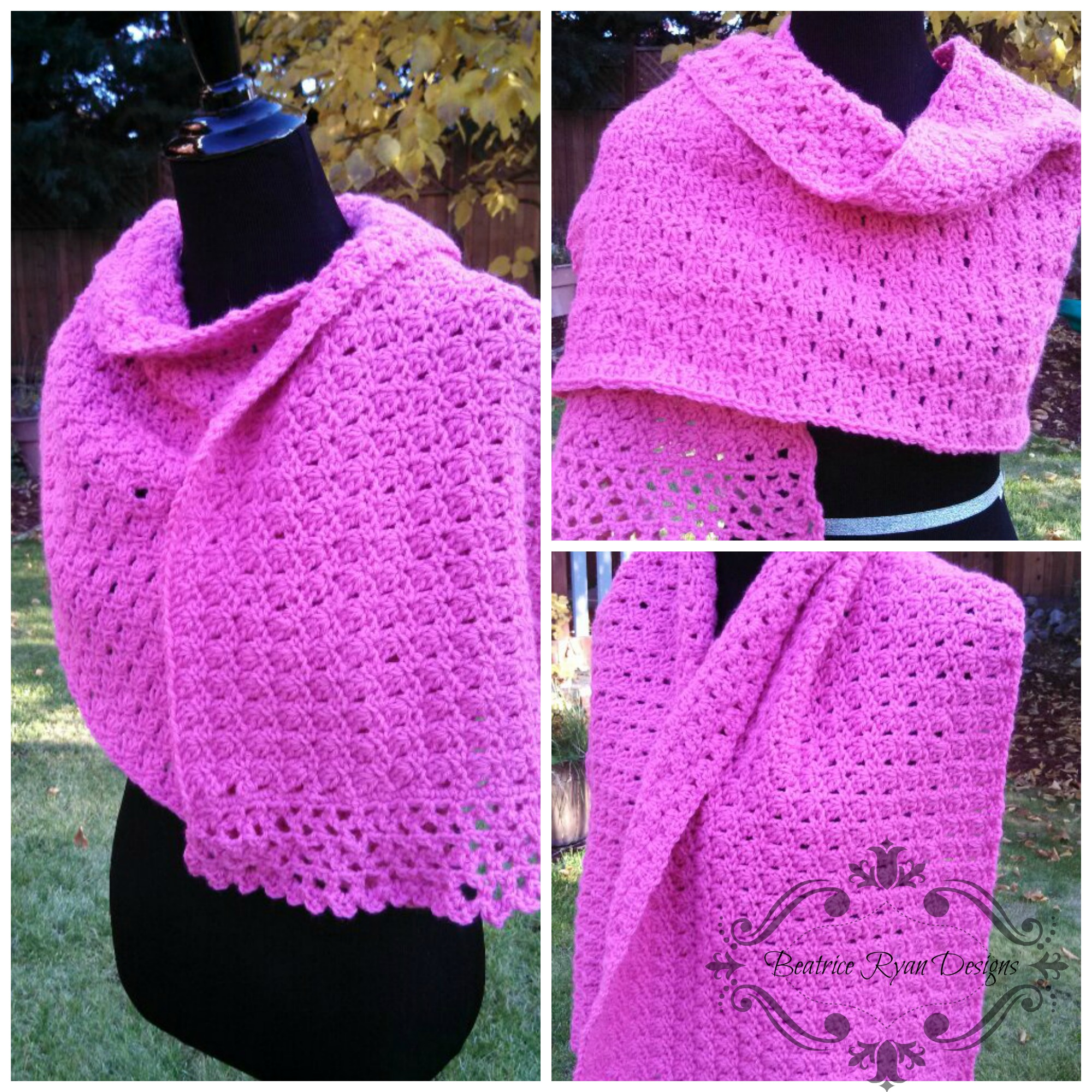 Free Crochet Shawl Patterns Awesome Decorating Design