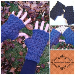 Fingerless Glove Collage