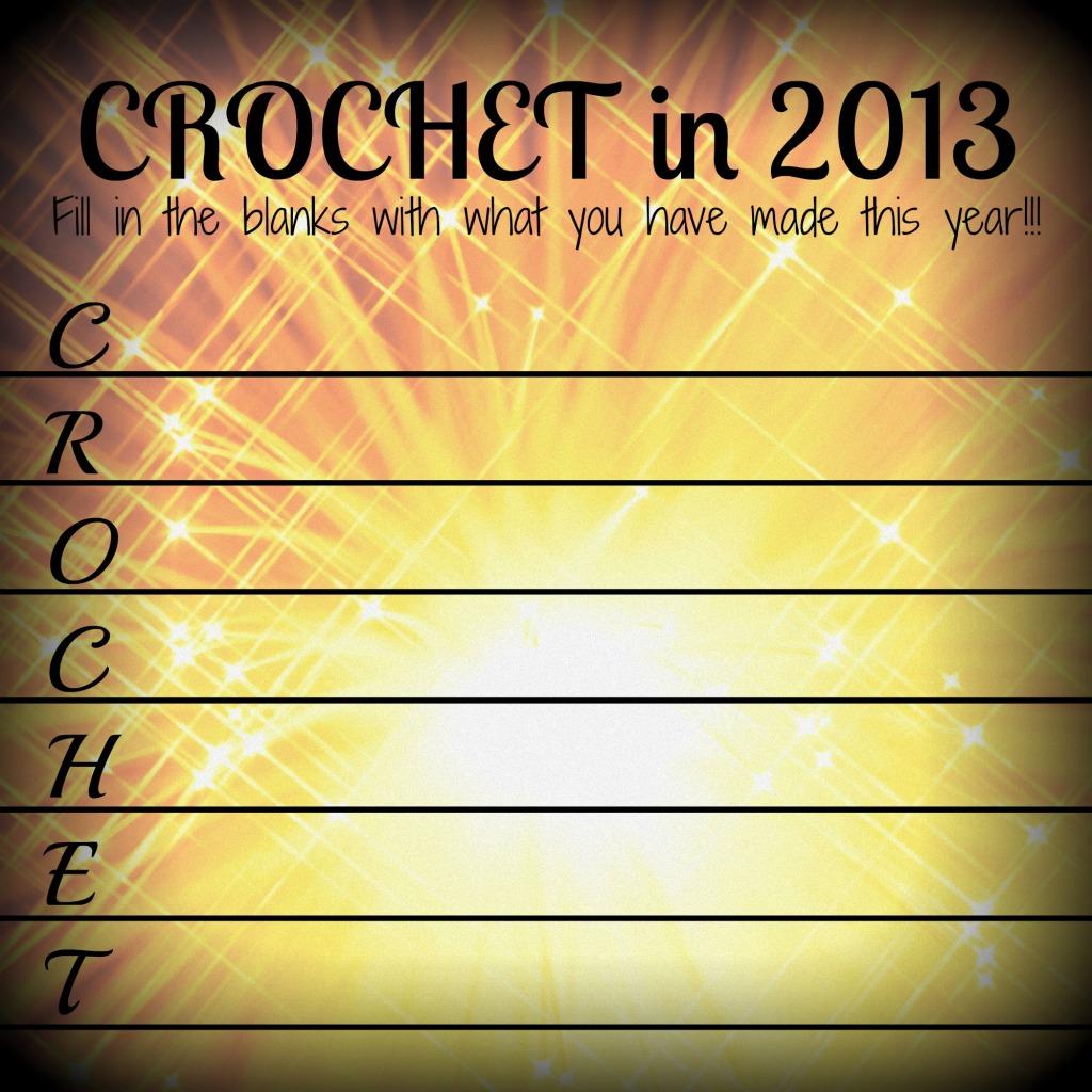 crochet list