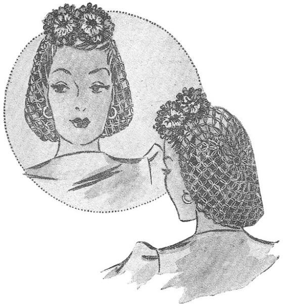 1940FloralSnood