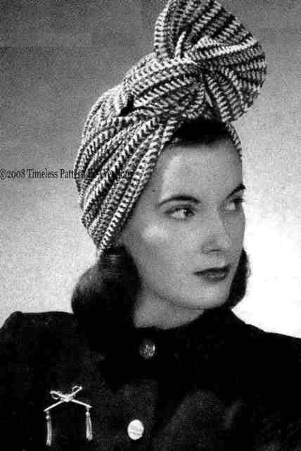Throw Back Thursday Crochet.... The 1940 s - ............Beatrice ... 74a691b56e5