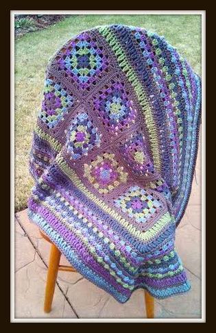 week 6 Crochet a Long Free Pattern #Free #Pattern #Afghan #Crochet