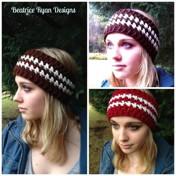 Winters Twist Free Crochet Headband Pattern