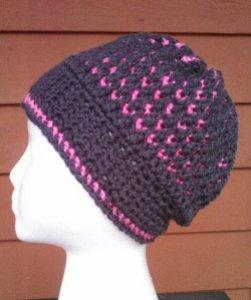 Morning Frost Hat... #FreePattern #Crochet