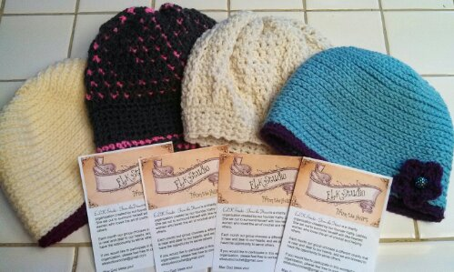 Charity Crochet Hats... Free Patterns!!