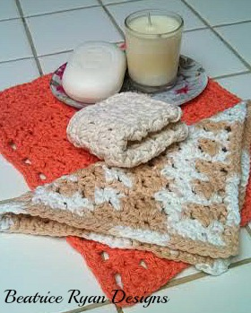 Amazing Grace Spa Trio, Free Crochet Pattern