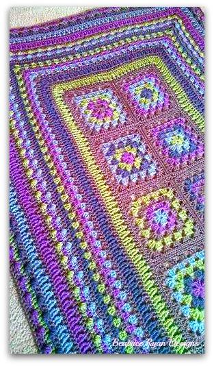 week 7 CAL Free Afghan Pattern