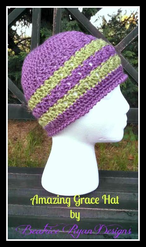 Amazing Grace Hat Free Pattern