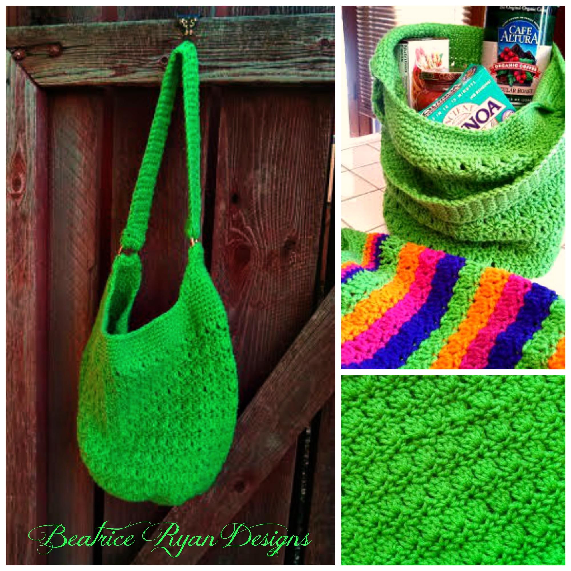Amazing Grace Tote ~ Free Crochet Pattern