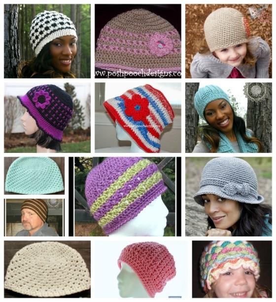 Chemo-hat-patterns