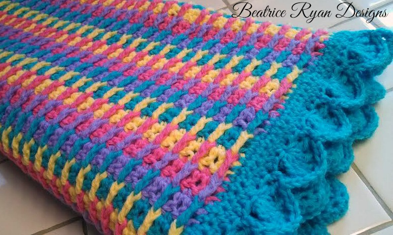 Rainbow Dash Baby Blanket